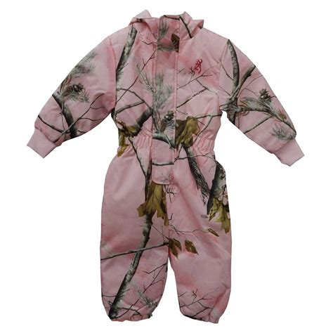 realtree pink camo clothing realtree pink camouflage snowsuit