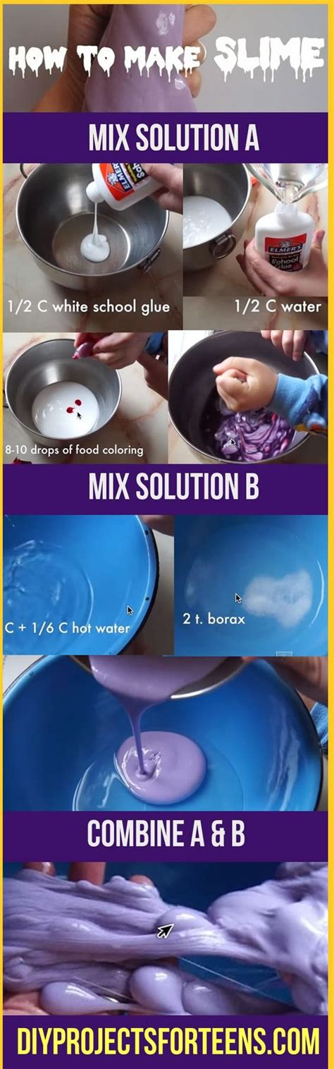 slime tutorial video how to make diy slime recipe slime videos how to make