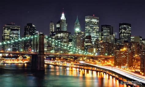 themes windows 7 new york new york skyline windows 7 theme download