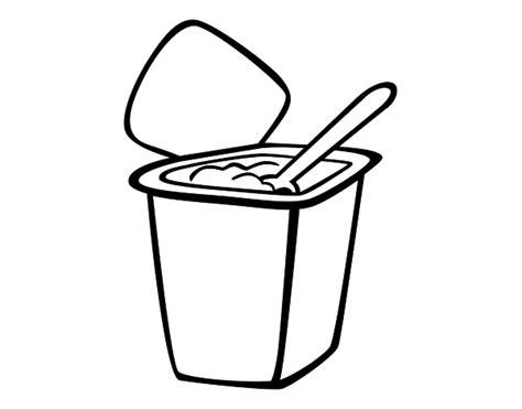 desenho iogurte natural colorir colorir