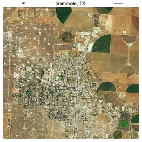 seminole texas map aerial photography map of seminole tx texas