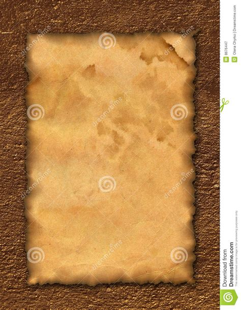 ancient roll template royalty free stock photography