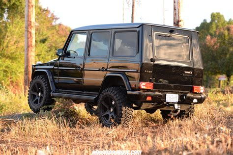lifted mercedes black ops mercedes benz custom lifted g550 x hre tr106
