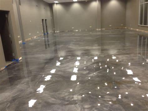 Metallic Floor Metallic Stained Floor Redeckonwo