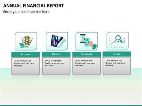 Annual Financial Report Powerpoint Template Sketchbubble Annual Report Powerpoint Template