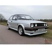 1986 VOLKSWAGEN GOLF GTI SILVER ONE OWNER 52000 MILES