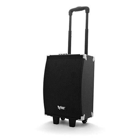 tyler tailgate portable wireless bluetooth speaker pa