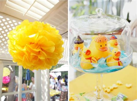 rubber ducky baby shower ideas duckies everywhere and it