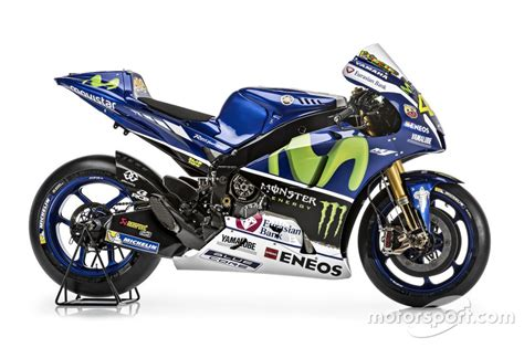 Foto Motor by La Yamaha Yzr M1 De Valentino Yamaha Factory Racing