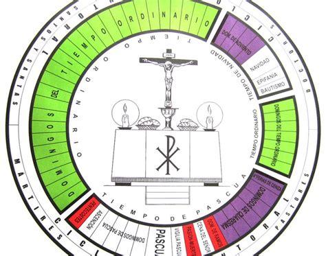 K Es El Calendario Liturgico 191 Has Visto A Dios Caminar Enciclopedia Cofrade El A 241 O