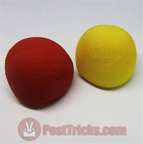 colour changing sponge balls post tricks