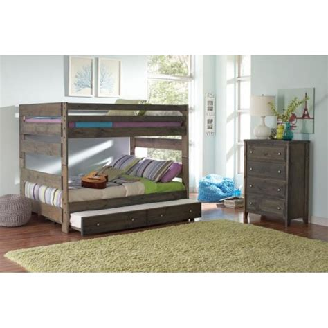 bunk bed full full over full bunk bed