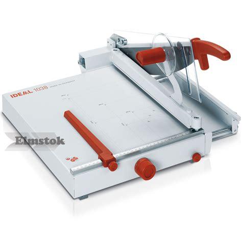 Rotary Trimmer Paper Cutter Ideal 0135 ideal 1038 professional desktop paper trimmer guillotine elmstok