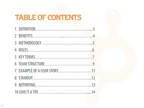 Definition Of Table Of Contents table of contents 1 definition 3