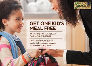 olive garden coupons yuma az yum olive garden and it s even yummier when kids eat