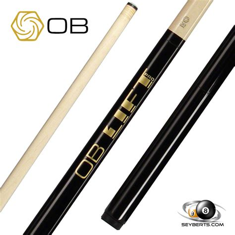 ob black lift pro 2 jump cue ob cues free shipping