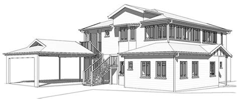 photos 3d house drawing drawings gallery