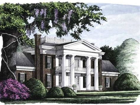 southern house plans eplans eplans neoclassical house plan savannah 4293 square