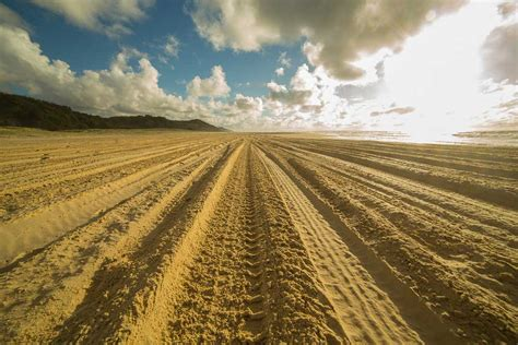 Sand Trax Sand Lander Road 15 sand driving tips to save your fraser island trip