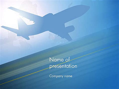 Cars And Transportation Powerpoint Presentation Templates And Backgrounds Poweredtemplate Com Airport Powerpoint Template