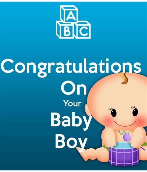 Your Pics by Congratulations On Your Baby Boy Poster 1perrent Keep