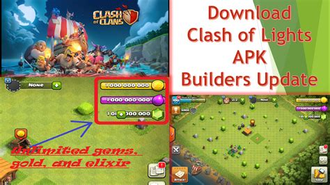 clash of lights com clash of clans server by clash of