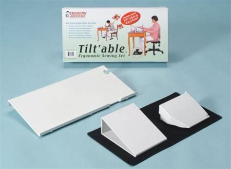 Craft Table Sew Ergo Sewing Machine Tiltable Table 9x18 Quot Sure Foot