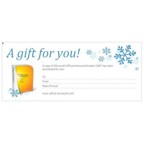 best photos of gift certificate word document gift