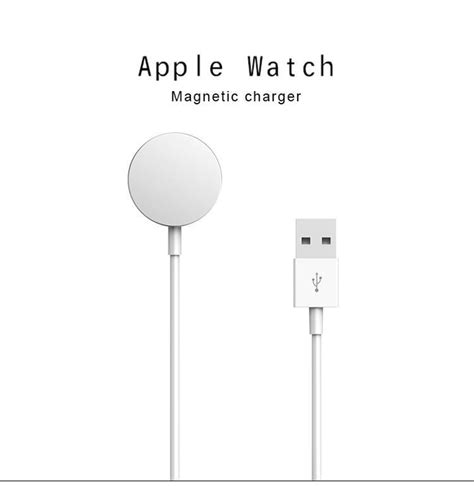 Apple Magnetic Charging Cable 1m Original Berkualitas 1m magnetic charging cable for apple iwatch wireless micro usb cable smart charger