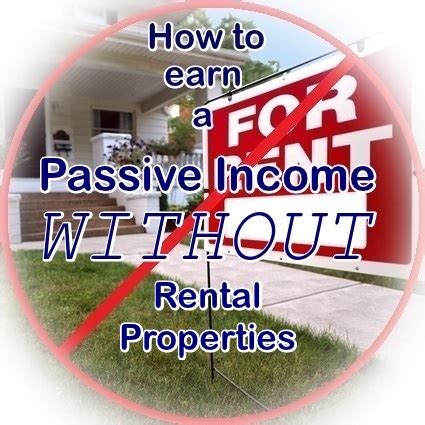 how to make money earning passive income with your spare time from home books 8 ways to earn passive income without rental properties