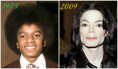 through the years michael jackson through the years 1973 2009