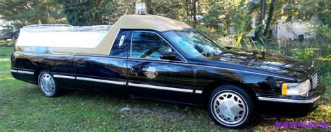1999 Cadillac Coupe 1999 cadillac coupe de fleur hearse flower car hearse