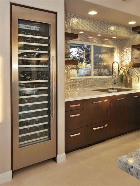 built in bar built ins and wine fridge on pinterest 15 style boosting kitchen updates kitchen ideas design