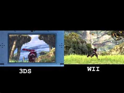 wii vs xbox 1 graphics new nintendo 3ds xenoblade vs wii graphics comparison