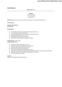 Cover Letter For A Cook by Resume Exle 43 Pastry Chef Resume Sles Pastry With