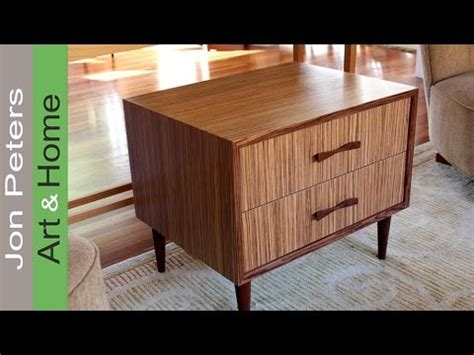 how to use wood veneer refinish furniture with zebrawood