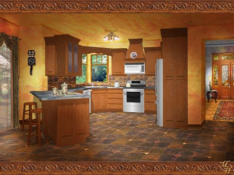 Kitchen Backdrops by Kitchen By Ookamikasumi On Deviantart
