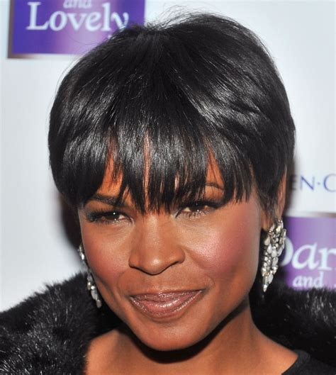 Black Hairstyles For Hair With Bangs Pictures by Pictures Of Hairstyles For Black Hair