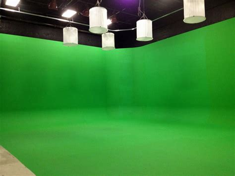 going green screen with rosco rosco spectrum