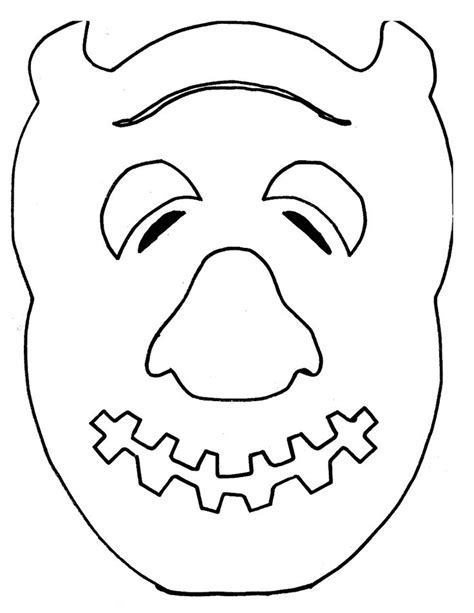 printable monster mask template where the wild things are templates change