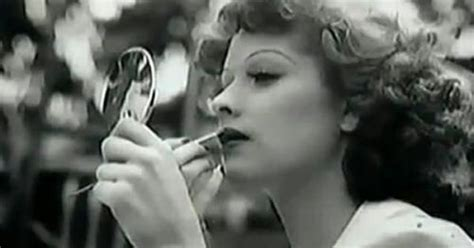 lucille ball no makeup putting on makeup lucille ball and 1940s