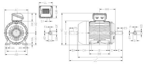 iec metric motors wiring diagrams wound rotor motor
