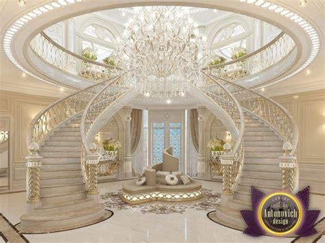 Villa Stairs Design Luxury Villa Design In Dubai From Antonovich Antonovich Palaces Luxury