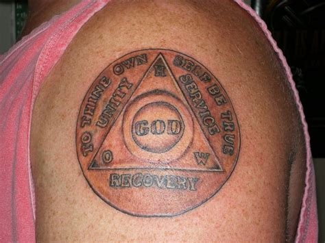 sobriety tattoos designs fubar tattoobitch s photo sobriety coin my