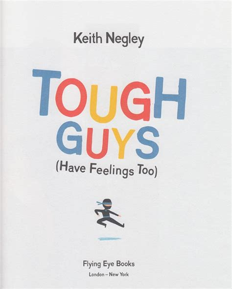 libro tough guys have feelings tough guys have feelings too