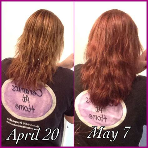 before snd after picture of hair growth in eonen biotin results before and after really works hair