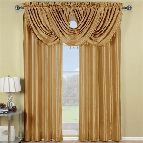 gold window curtains window valances goingdecor