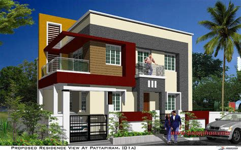 Basic Duplex Floor Plans by Pergola Elevation Designs Front Elevation In Arumbakkam