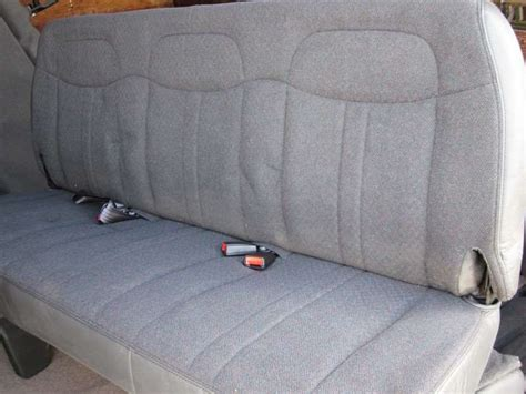 gmc bench seat gmc this is a new take off rear crew cab bench seat for