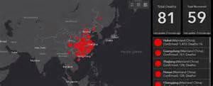 website lets  track  global spread  wuhan